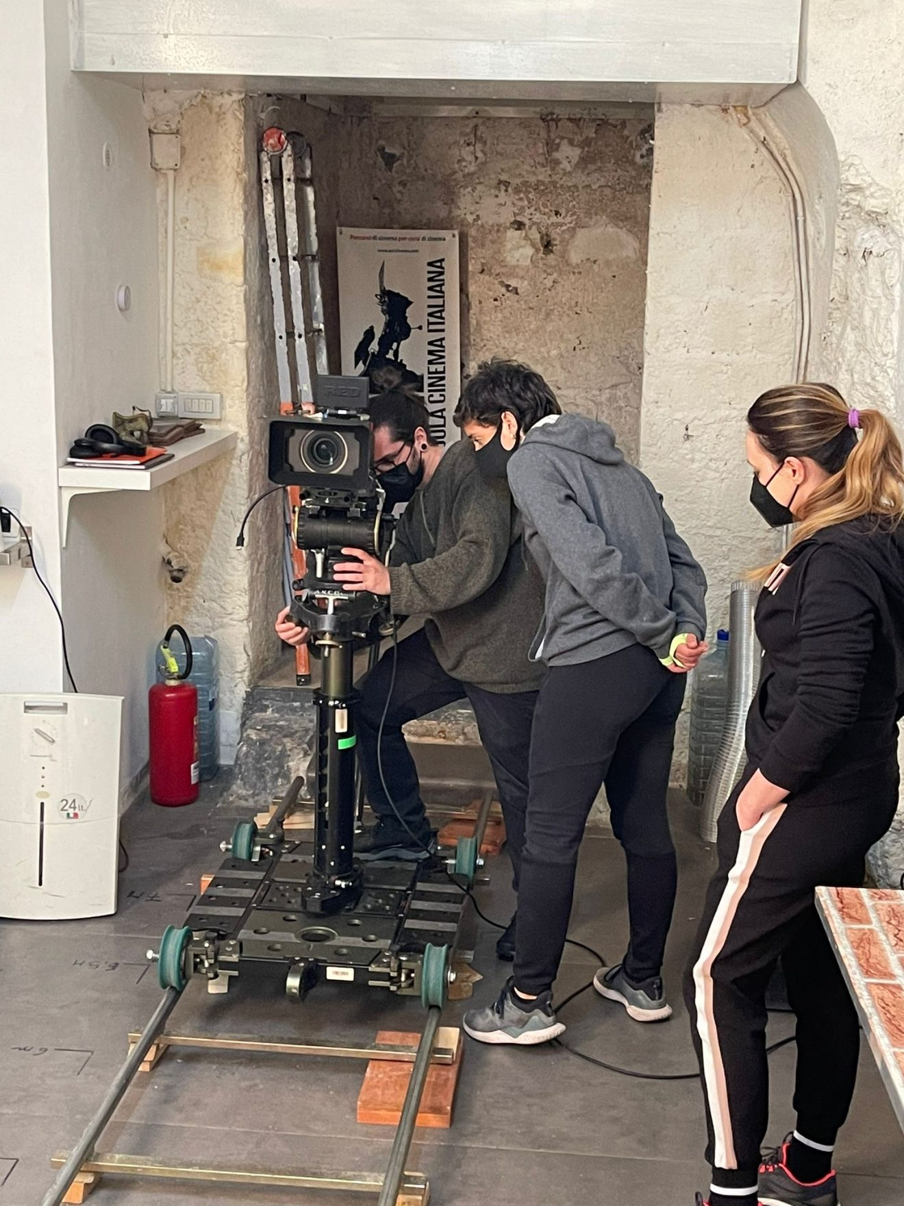 La scuola di Napoli ASCI Cinema riconosciuta dalla Aic-Imago