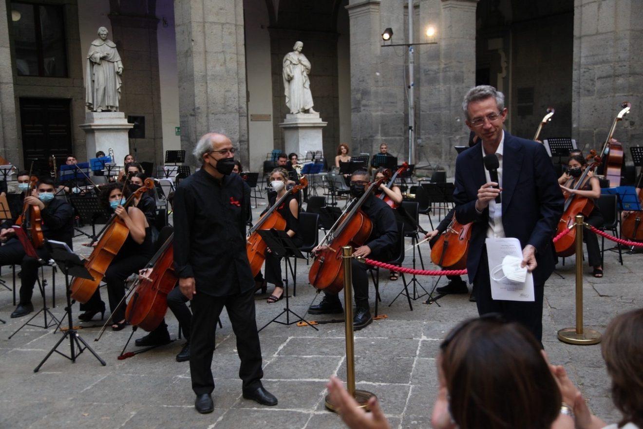 NUOVA ORCHESTRA SCARLATTI / Concerto per festeggiare l'elezione del Sindaco Manfredi